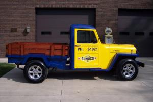 1954 WILLYS TRUCK - CUSTOMIZED WITH SUNOCO MOTIF