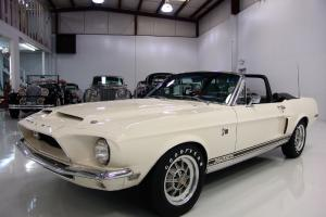 1968 SHELBY GT-500KR CONVERTIBLE, LOW MILES! MAGNIFICENT! ONE OWNER UNTIL 2001!