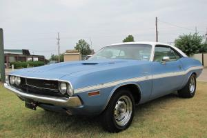 1970 DODGE Challenger R/T 440 U code rust free B3 body with fresh 440 SIX PACK