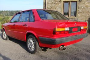 Audi 80 quattro 4 door saloon 1984  Photo