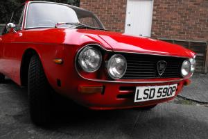 1976 LANCIA FULVIA CP RY 1.3 S3 RED