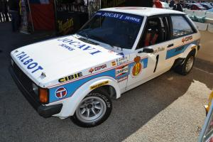 Talbot Sunbeam Lotus Ex Zanini National 82 rally Champion works no escort GR B A