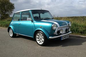 Rover Mini Cooper MPI, Rare Hawaiian Blue, 43k, FSH Stunning immaculate car