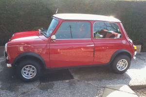 Rover Mini 1275 Mpi Cooper, Red With Cream Roof