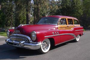 1953 buick super series 50 woody estate wagon. Black Bedroom Furniture Sets. Home Design Ideas