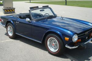 1974 Triumph TR6 with overdrive Photo