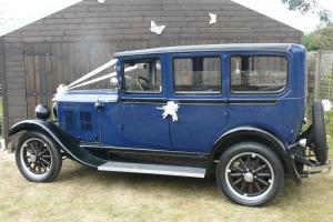 1929 DURRANT no reserve WEDDING CAR Photo