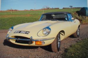 1969 JAGUAR E -TYPE S2 4.2 ROADSTER 24,000 MLS. AFTER REBIULD