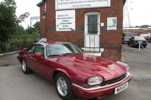 M-reg Jaguar XJS 4.0 AJ16 Engine Flamenco Red Immaculate Condtion Only 63k