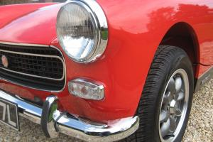MG Midget MkIII 1275cc with HERITAGE BODYSHELL FITTED