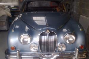 JAGUAR 3.8 mk2 BLUE  Photo