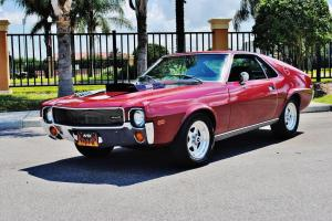 absolutley sweet and very rare 69 AMC AMX 390 V-8 must see drive no reserve wow