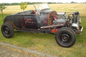hot rod,ford 350 chevy