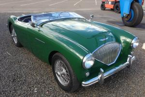 Austin Healey 1954 100/4 100/4 BN1 Awesome unmolested elegance and grace, VIDEO! Photo