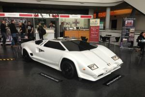 Worlds only LamBARghini mobile bar and reception desk from replica Lamborghini
