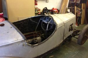 Riley 9 1960s racer Cris winder built owned by roger Mortimer barn find