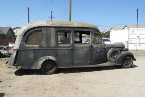 Rare one of a kind 1935 Packard motorhome