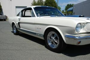 1966 SHELBY GT350 CARRY-OVER CAR, AUTHENTIC