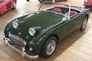61 MARK 1 BUGEYE Sprite Dark Green/Red Interior 4 speed