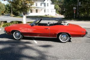1972 Buick Skylark Custom Convertible 2-Door 350ci 4 bbl