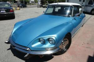 1972 Citroen DS21 Base 2.2L