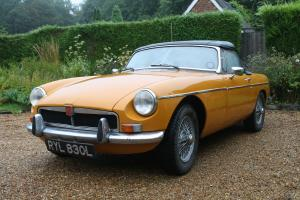 1972 MGB Roadster  Photo