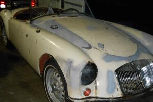 RARE 1959 MGA TWIN CAM ,OFF ROAD SINCE 1962,BARN FIND /SURVIVOR ,REBILT ENGINE Photo