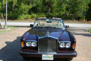 1986 Rolls-Royce Corniche Corniche II Photo