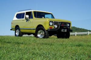 1976 INTERNATIONAL HARVESTER SCOUT II.. 4X4.. SIMPLY THE BEST.. MUST SEE..