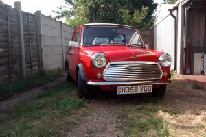 1990 ROVER MINI FLAME CHECKMATE RED/WHITE, Brooklands mini  Photo