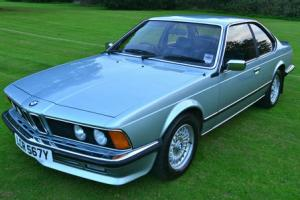 1983 BMW 635csi manual in time warp condition.