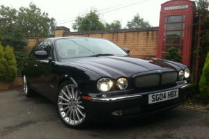 2004 Jaguar XJ6 3.0 V6 SPORT AUTO BLACK  Photo