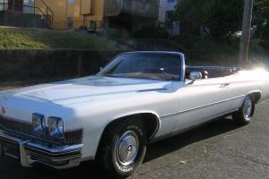 1974 Buick LaSabre Convertible - Complete Rebuild in 2004 - low mileage