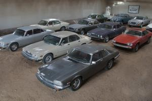 Exclusive Jaguar Classic Car Collection Photo