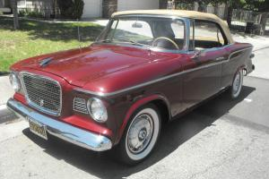 Studebaker Convertible. 1960 is the first year of the convertible, for the Lark