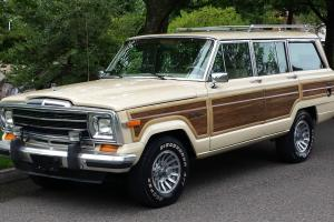 1989 Jeep Grand Wagoneer Base Sport Utility 4-Door 5.9L 4x4 Automatic