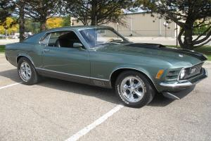 1970 Ford Mustang Mach 1 Special Order green 351 4 speed Marti Report