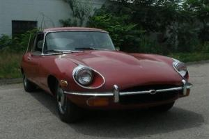 1969 JAGUAR XKE COUPE 2 PLUS 2 RARE RUST FREE CLASSIC READY FOR YOUR TLC! Photo