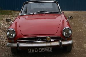 1966 SUNBEAM ALPINE RED