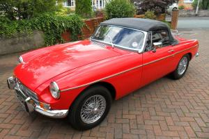 MGB Roadster 1970 ( tax free ) undergone total rebuild 2012/13  Photo