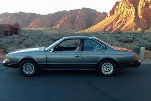 1979 BMW 633CSi Base Coupe 2-Door 3.2L
