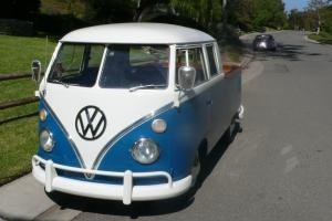 1963 VW Bus Double Cab Pickup