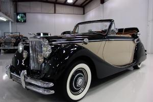 1950 JAGUAR MARK V DROPHEAD COUPE, ONLY 53,030 ORIGINAL MILES, CALIFORNIA CAR!