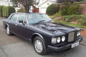 1989 BENTLEY TURBO R RED LABEL 6750 V8 AUTO FUEL INJECTION ACTIVE RIDE MODEL