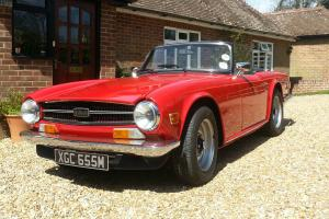 Triumph TR6 1973 CR 125BHP  Photo