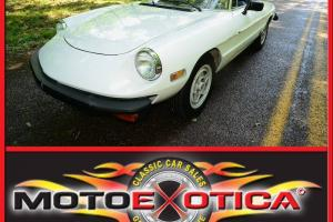1982 ALFA ROMEO SPIDER-VERY GOOD OVERALL CONDITION-HAVE SOME SUMMER FUN!!!
