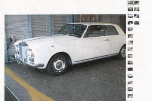 1967 Rolls Royce Silver Shadow 2 Door Fixed Head Coupe