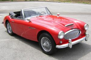 1963 Austin Healey 3000 Mk II Convertible Gorgeous Restored Example