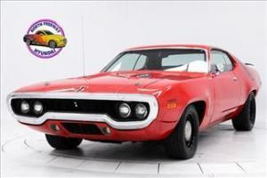 1971 Plymouth Road Runner 440 6 pack 4 Speed V code
