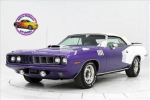 1971 Plymouth Cuda Convertible 383 4BBL A/C Power Windows, Top, P/S, P/B